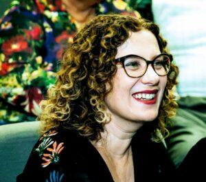 A socióloga Andreia dos Santos