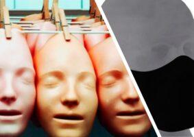 A imagem mostra máscaras que usamos para falar sobre A nostalgia de um tempo sem (com) máscaras. Máscaras de rostos: Site Voyager